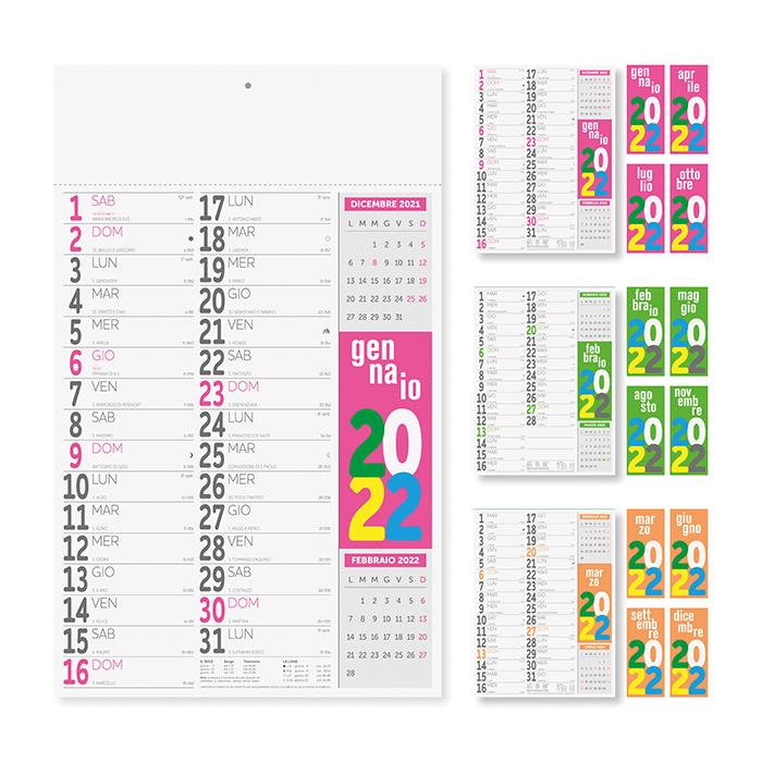 Calendario Olandese PA482