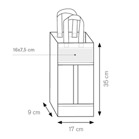 Borsa Porta Bottiglie PG121