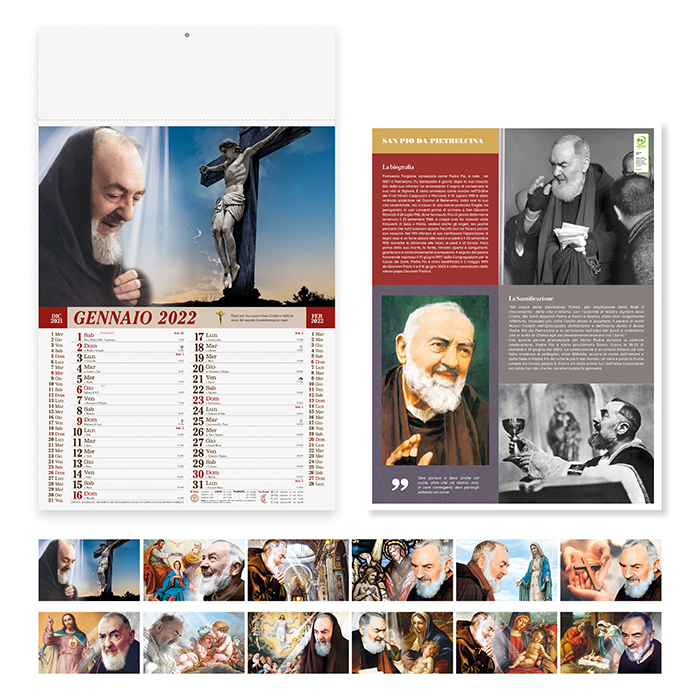 Calendario San Pio PA100