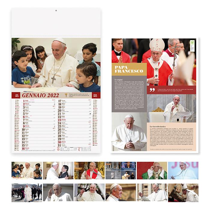 Calendario Papa Francesco PA101