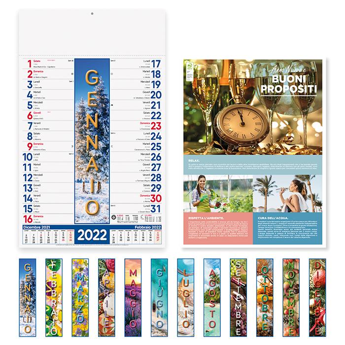 Calendario 4 Stagioni PA115