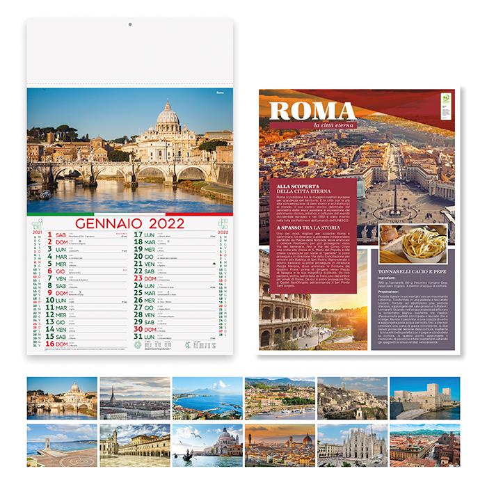 Calendario Città d'Italia PA116
