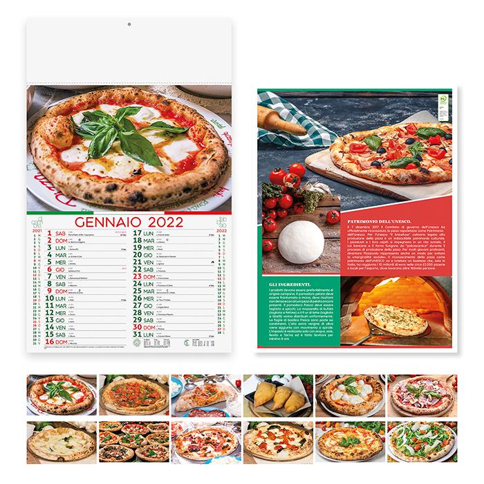 Calendario Pizza PA136