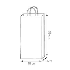 Shopper Porta Bottiglie Doppio PG021