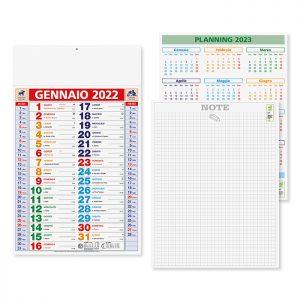 Calendario Olandese Multicolor PA600