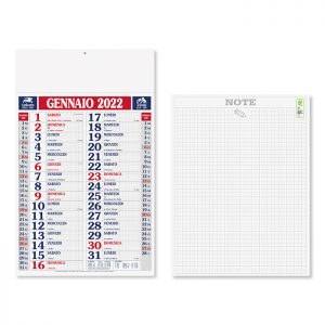 Calendario Olandese Quadrettato PA610