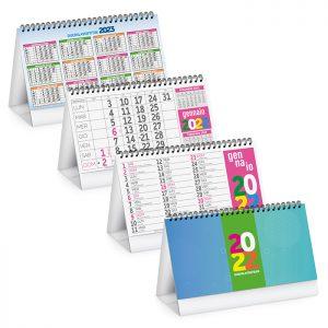 Calendario da Tavolo Multicolor Fluoro PA706